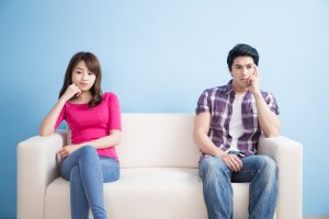 why couples under stress fight
